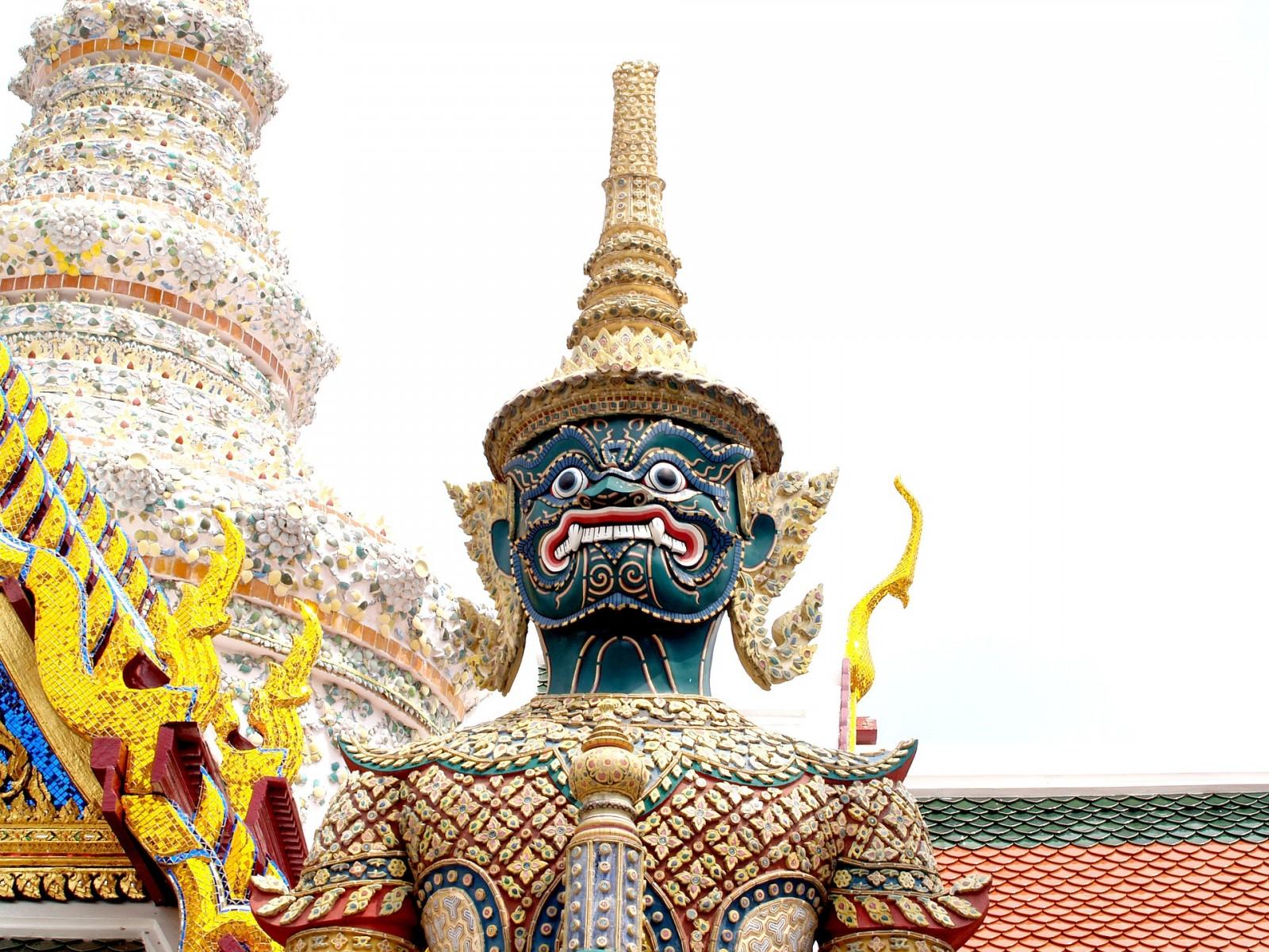 Temple Wat Pra Kaew, Grand Palace, Bangkok, Pixabay.com
