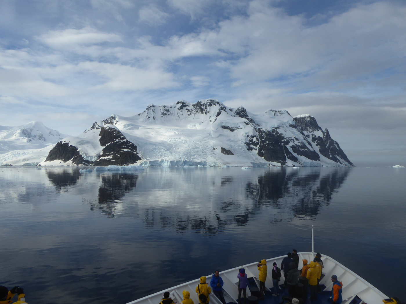 Beautiful Mountain from Ship Antarctic