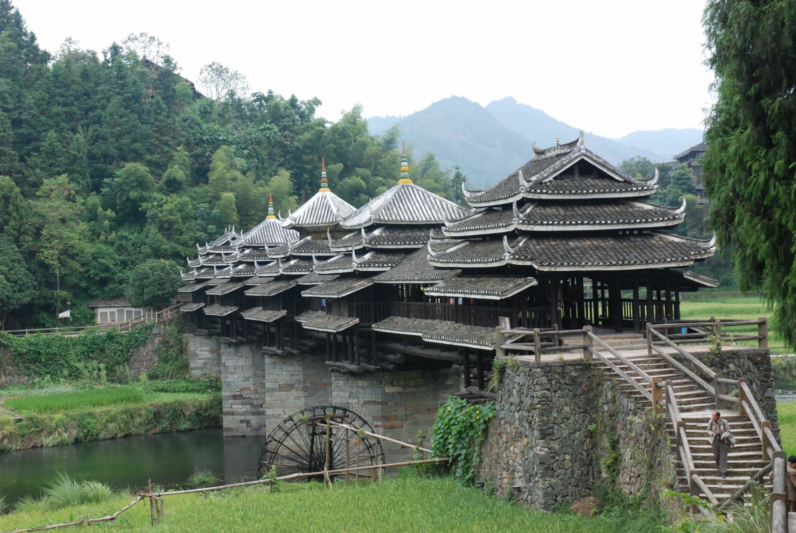 Chengyangqiao Roofed Bridge China