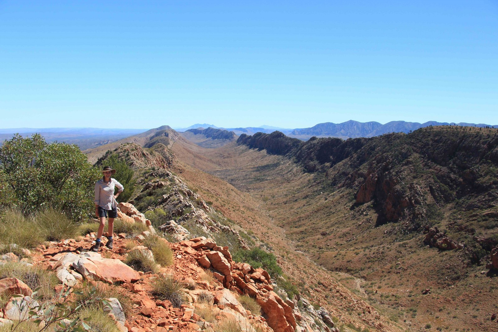 Larapinta Trail-Counts Point