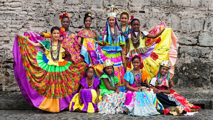 Dancers, Portobelo, Panama, Supplier