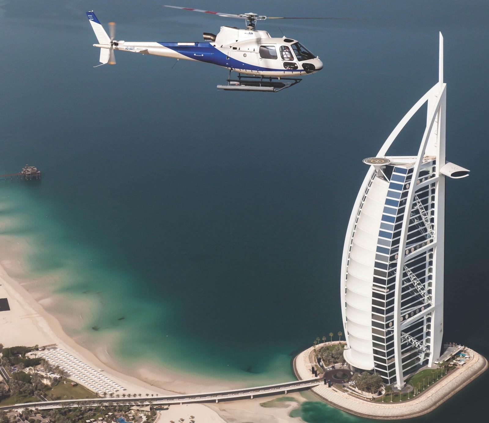 Helicopter Rides Dubai