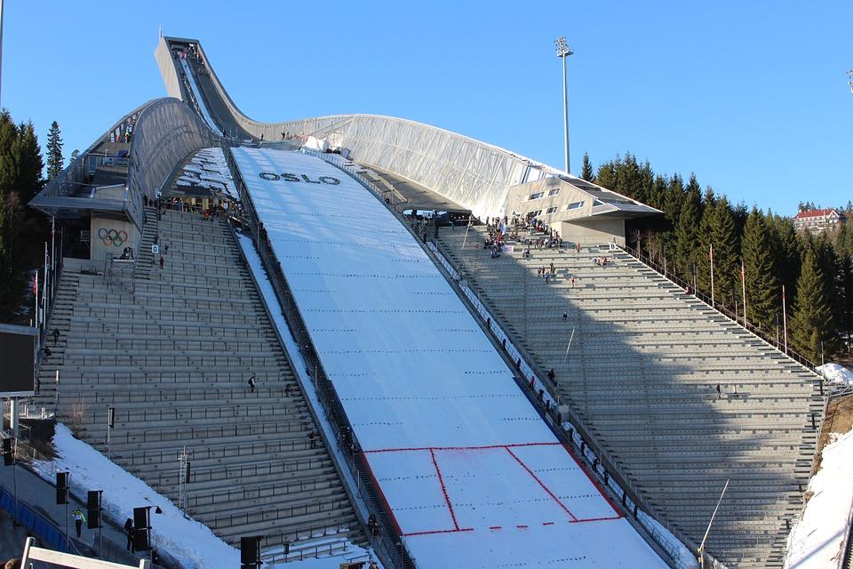 Holmenkollen Ski Jump, Oslo, Norway, Pixabay.com