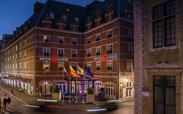 Hotel Amigo, Brussels, Hotel Website