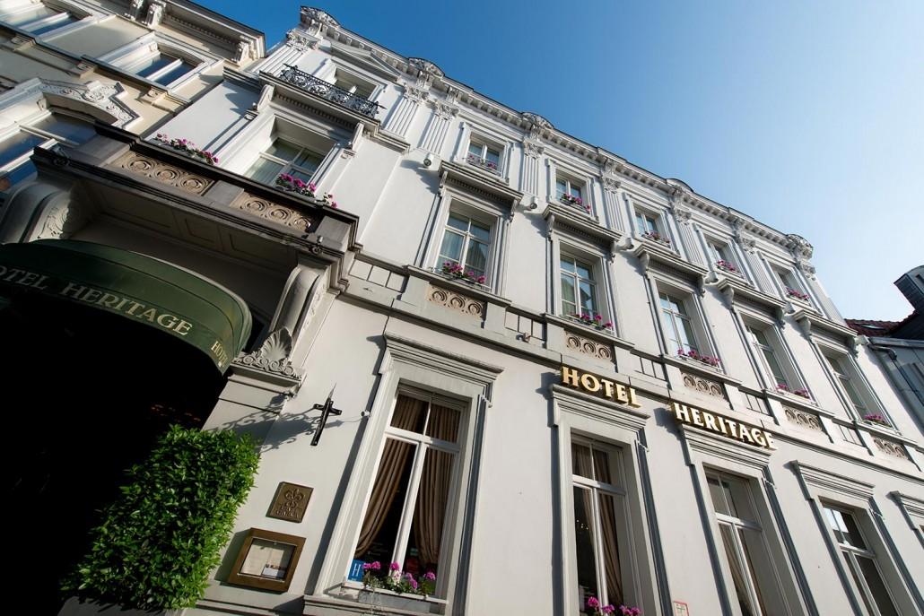 Hotel Heritage, Bruges, Hotel Website