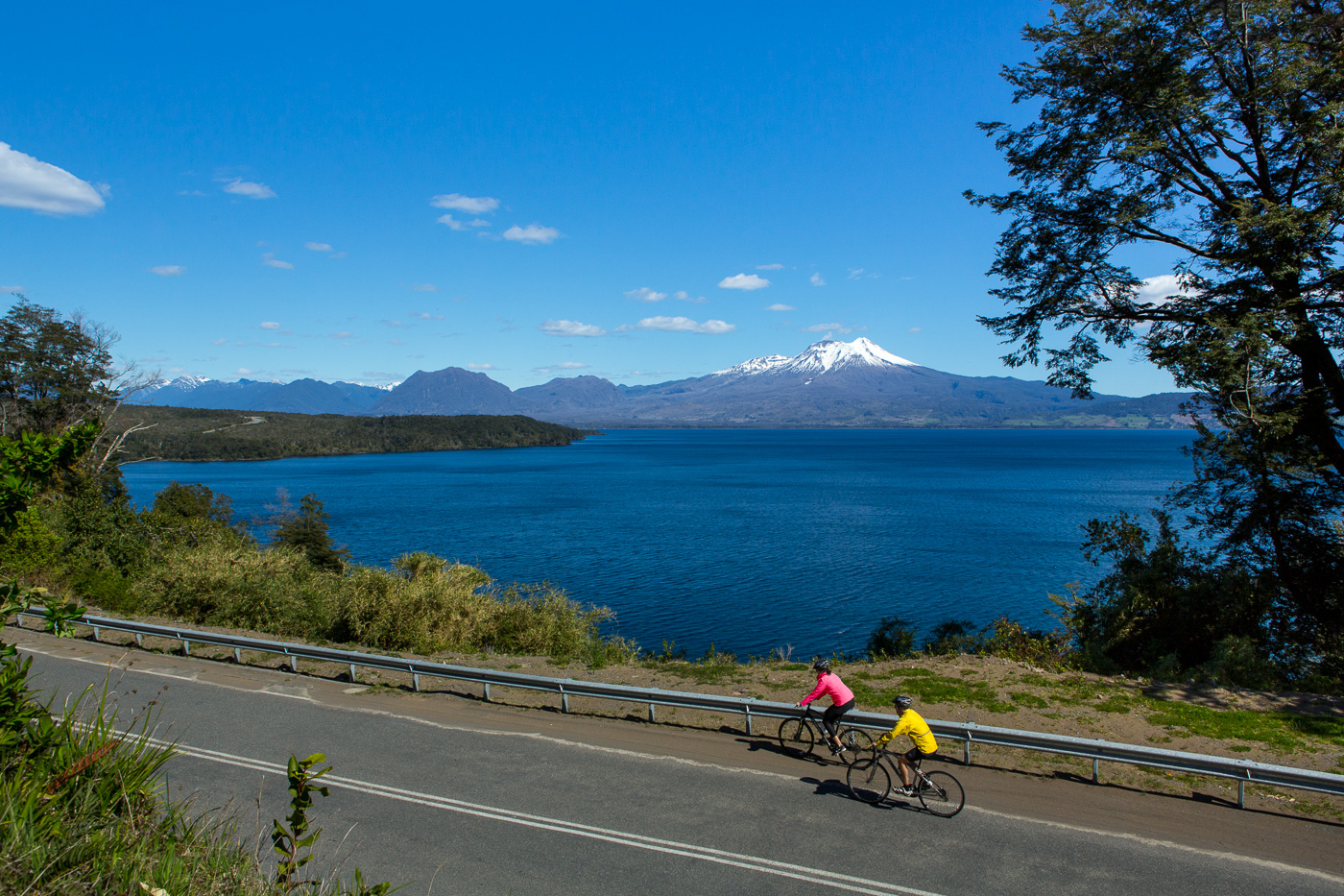 Pedal your way through Chile's Wine Region and Lake District
