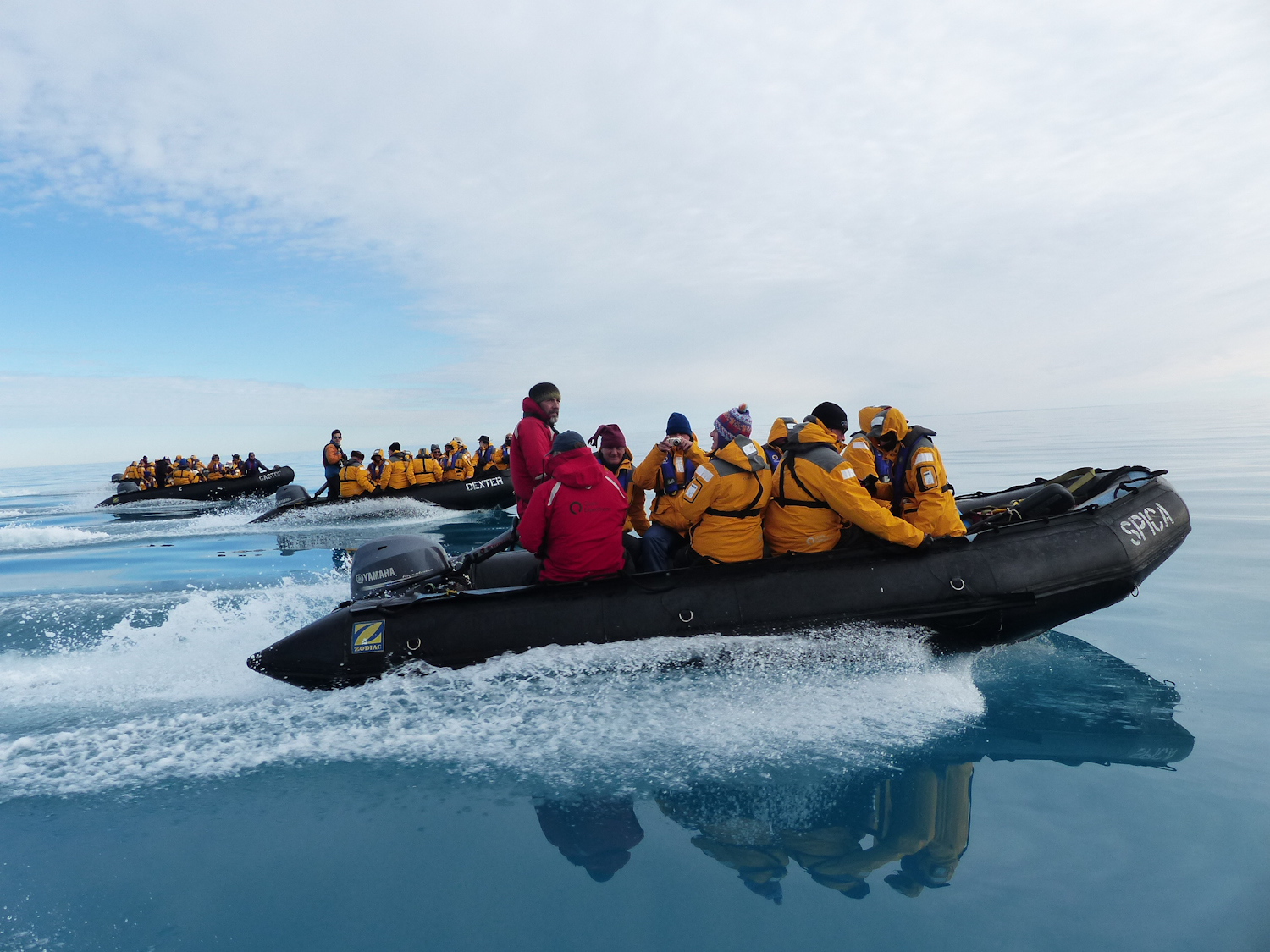 Zodiac cruise, Arctic, Canada, Supplier Photo (Quark Exepeditions)