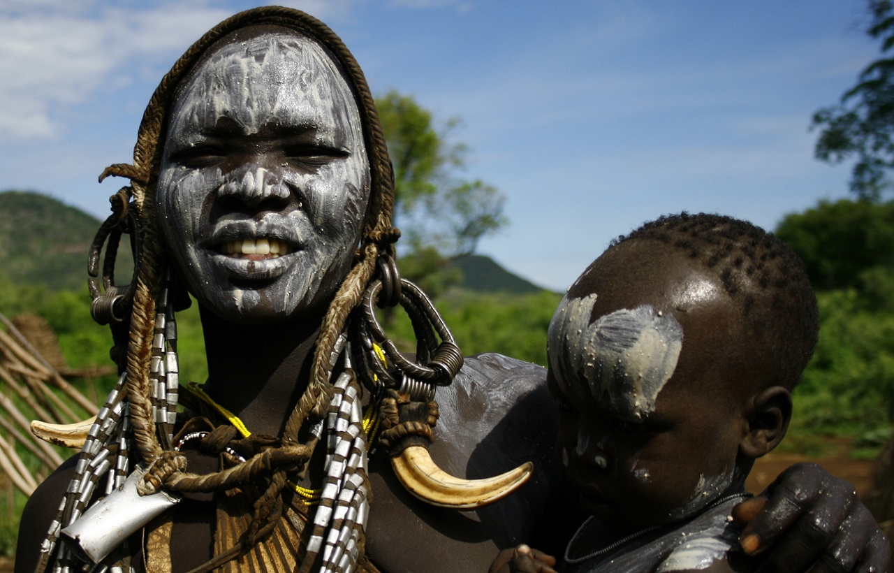 Mursi tribe, Omo Valley, Ethiopia, Supplier