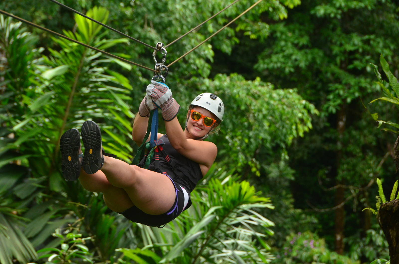 Zip-lining, Arenal Theme Park, Costa rica, Supplier