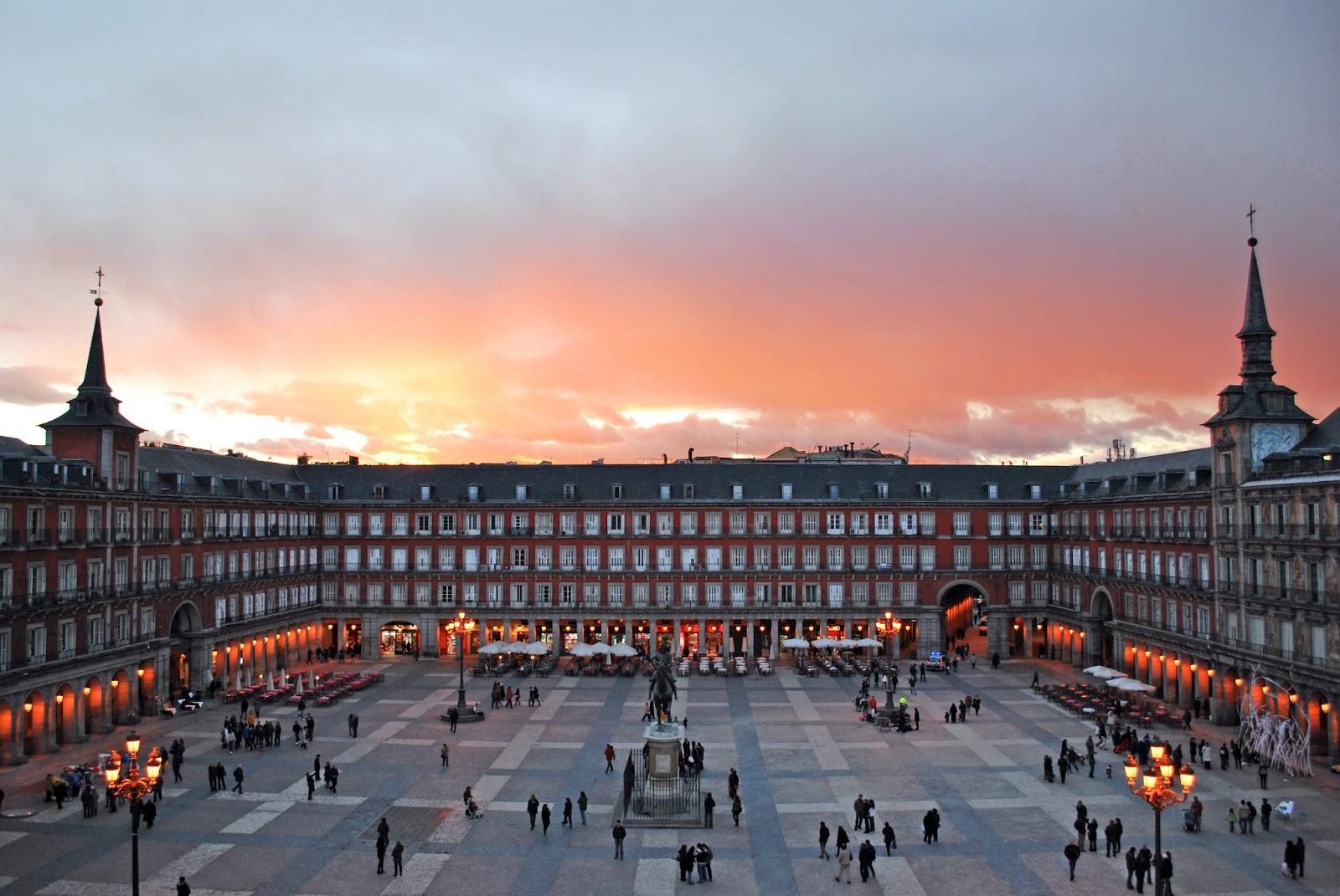 Madrid Plaza Mayor Spain