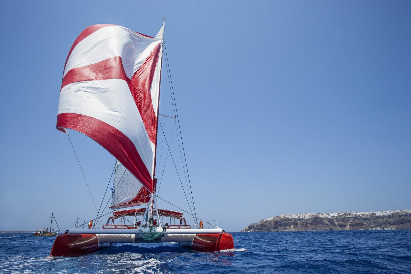 Catamaran SANTORINI Greece