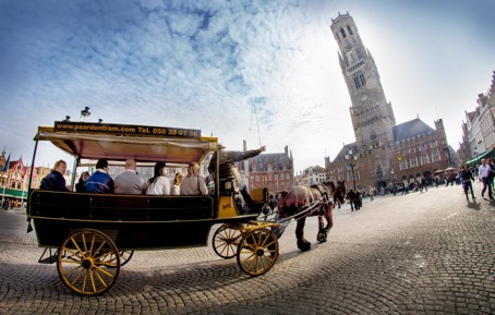 The Horse Tram, Bruges, Belgium, Supplier