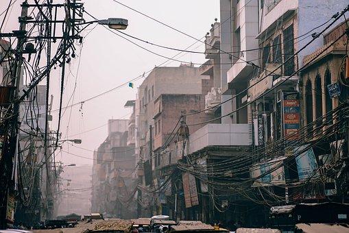 Dharavi slums, Mumbai, India, Pixabay.com