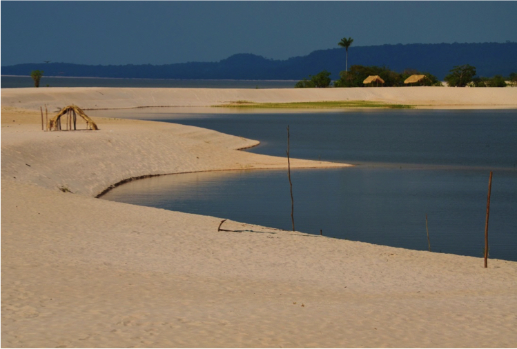 Cajutuba Beach, Tapajos River, Amazon, Brazil, Supplier Photo, (Rio Life)