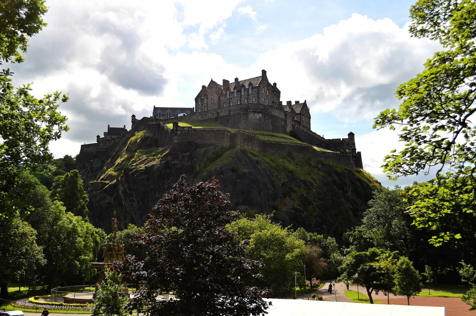 Edinburgh Castle, Scotland, Uk, Pixabay.com