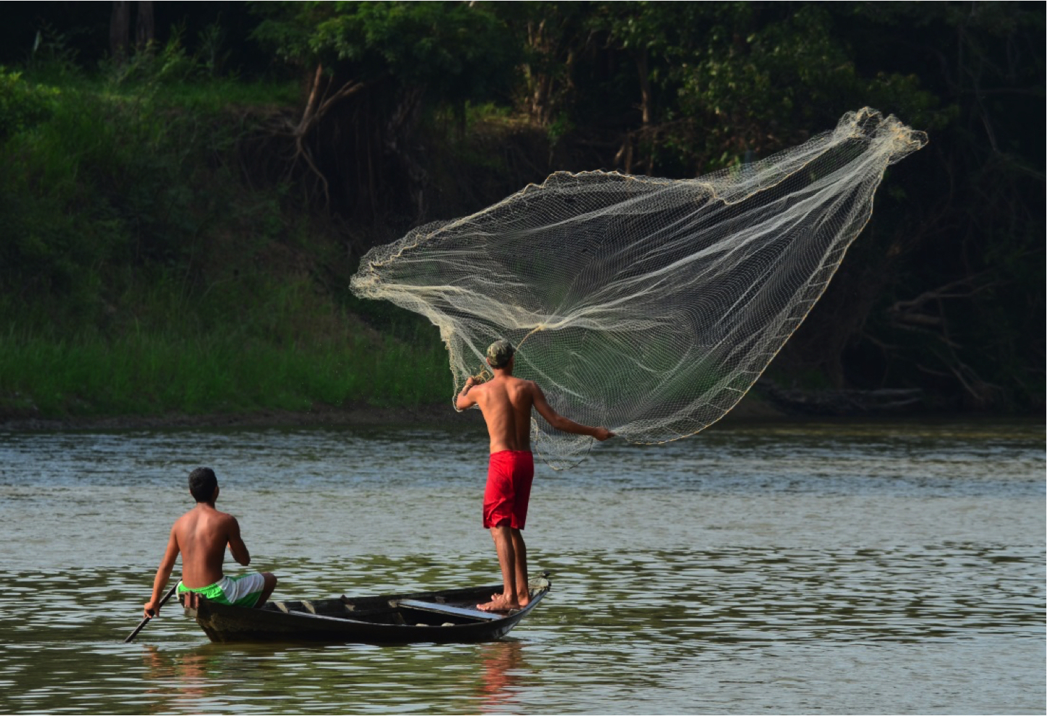 Fishing, Amazon, Brazil, Supplier Photo, (Rio Life)