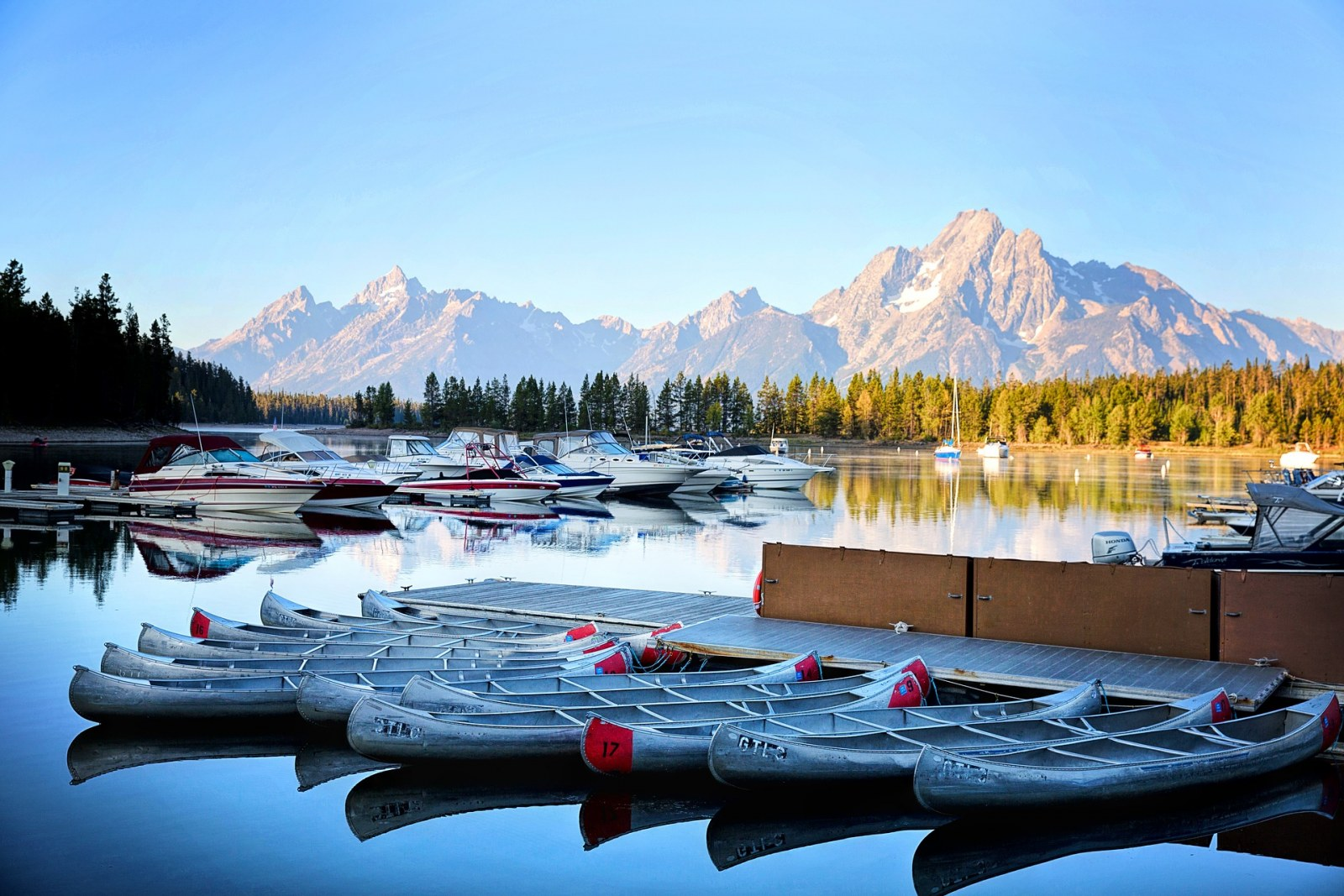 Kayak, Grand Tetons, Wyoming, Pixabay.com