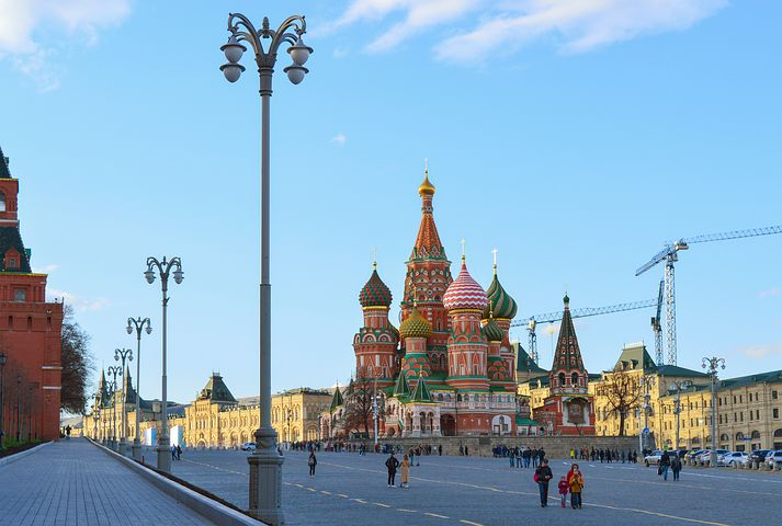 St. Basil's, Moscow, Russia Pixabay.com