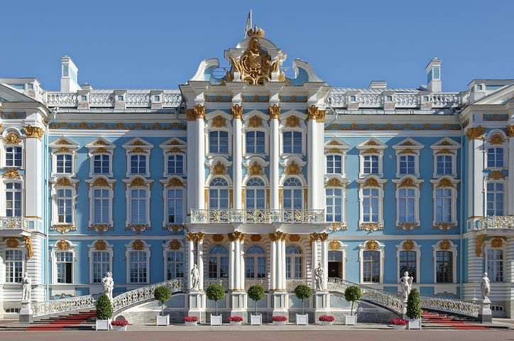 Catherine's palace, Moscow, Russia, Pixabay.com