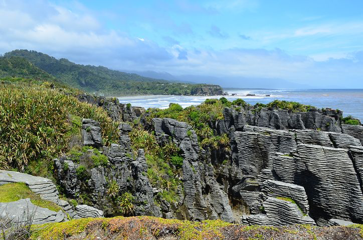 Punakaiki beach, New Zealand , Pixabay.com