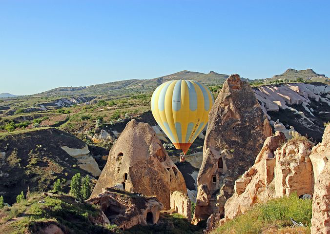 Hot Air Balloon, Cappadocia, Istanbul, Turkey, Pixabay.com