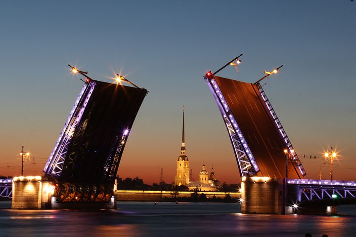 Bridge, St. petersburg, Russia, Pixabay.com