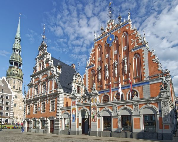 St. Peter's Church, Riga, Latvia, Pixabay.com