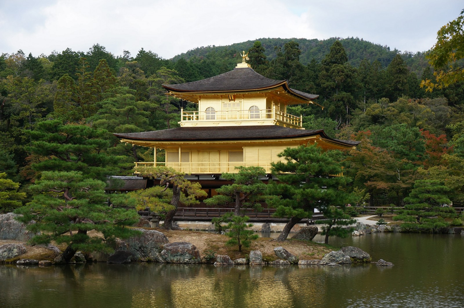 Kinkakuji Temple Japan