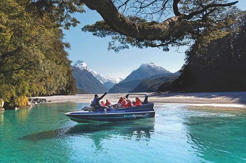 Jet Boat, Dart river, New Zealand, Supplier